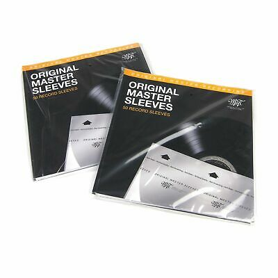 Mobile Fidelity: Original Master Inner Record Sleeves Double Pack (100 Units)