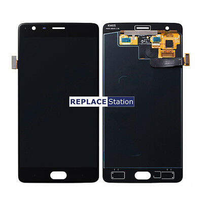 For Oneplus 3 3T LCD Screen Display Touch Digitizer Replacement Assembly Black