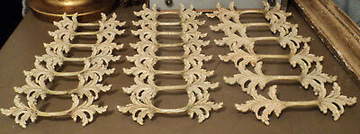 Lot of 21 Antique French Country Mid Century Modern Shabby Chic Drawer Pulls