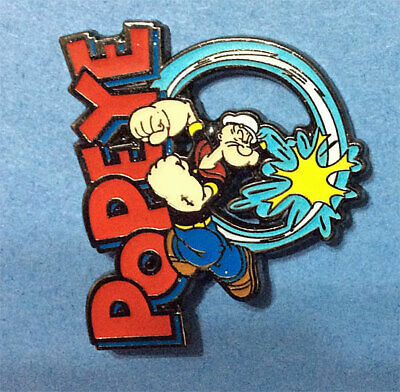 Popeye Packs A Punch Collector Pin
