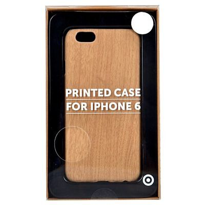 NEW Target Slim Design Case For iPhone 6 - Wood Stain