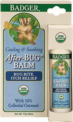 After-Bug Balm Itch Relief Stick, Badger, 0.6 oz