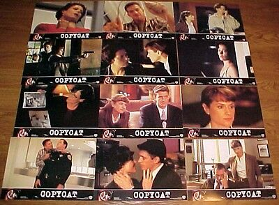 Sigourney Weaver Holly Hunter Copycat Spanish lobby card set 12 Dermot Mulroney