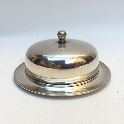 I.F.S. Ltd Made In England Silver Plated Small Serving Dish With Lid