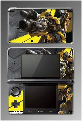 Transformers Bumblebee Movie Video Game Vinyl Decal SKIN 17 for Nintendo 3DS