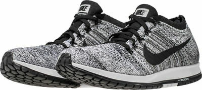 0627be3bba9a NIKE ZOOM FLYKNIT Streak 6 Running Shoes 835994-003 (Wolf Grey white ...