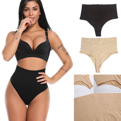 Women Control Pants Seamless High Waist Firm Tummy Shaper Magic Knickers Briefs