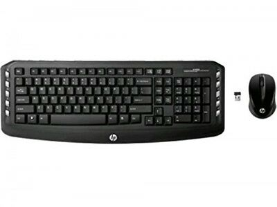HP Wireless Classic Desktop Keyboard and Mouse (LV290AAABA)