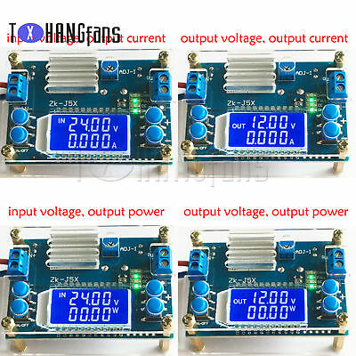 5A 12A DCDC LCD CNC step-down module constant voltage constant current ATF