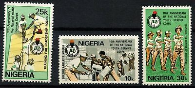 Nigeria 1983 SG#452-4 National Youth Service Corps MNH Set #D75388