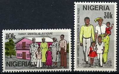 Nigeria 1983 SG#446-7 Family Day MNH Set #D75393