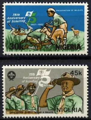 Nigeria 1982 SG#429-430 Boy Scout Movement MNH Set #D75396