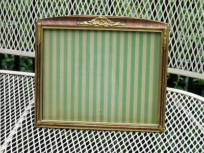 Antique Art Crafts Gilt Bat Wing Acanthus Leaf Dragged Grain Picture Frame 8~10