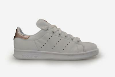 WOMENS ADIDAS STAN Smith W - BB1434 - White Rose Gold Trainers - EUR ... f3084669a33