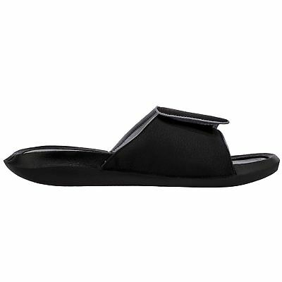 1f1435c94ce3c NIKE JORDAN HYDRO 6 Black Grey Big Kids Slides