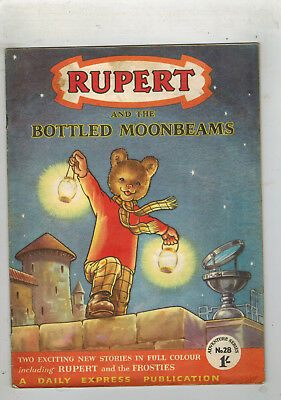 RUPERT ADVENTURE SERIES No. 28 Bottled Moonbeams