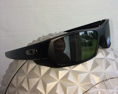 OAKLEY GASCAN 12-856 Matte Black Black Iridium Polarized Sunglasses  AUTHENTIC 13d18efda4