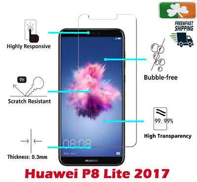 Premium Quality Tempered Glass Screen Protector Film For Huawei P8 Lite 2017