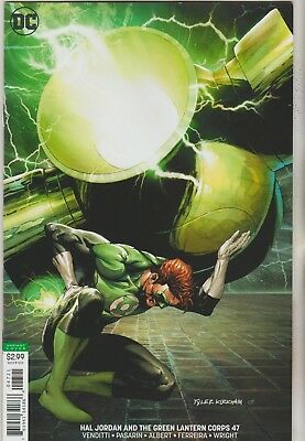 Dc Comics Hal Jordan And The Green Lantern Corps #47 August 2018 Variant Nm