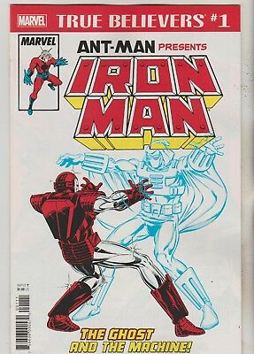Marvel Comics Ant-Man Presents Iron Man #1 True Believers Reprint Nm