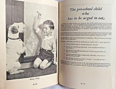 Cream of Wheat Booklet The Important Business of Feeding Children 1936 Vintage