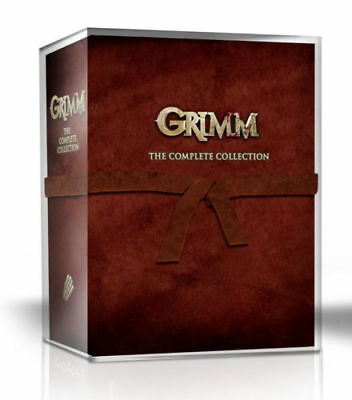 Grimm The Complete Collection Season 1-6(DVD 2017 29-Disc)Box Set,1 2 3 4 5 6