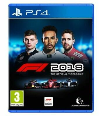 Videogioco F1 2018 Headline Edition Ps4 Gioco Italiano Formula 1 Play Station 4