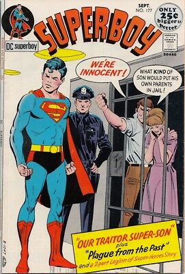 "Superboy 177 ""Our Traitor Super-Son"" VF $25"