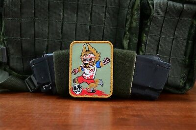 Russian  wolf and the soccer ball Tactical morale military patch
