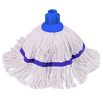 THE CHEMICAL HUT® 200gm Blue Hygiemix Professional Mop Head, Cotton & Synthetic