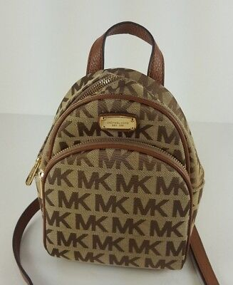 72bcc0f7c741 ireland michael kors abbey xs mini backpack mk logo convertible crossbody  bag purse 76306 21782