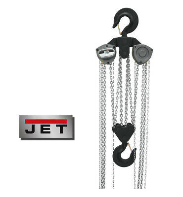 "JET ""L100-Series"" 20-Ton Hand Chain Hoist with 10' Lift ~ Model: L100-2000-10"