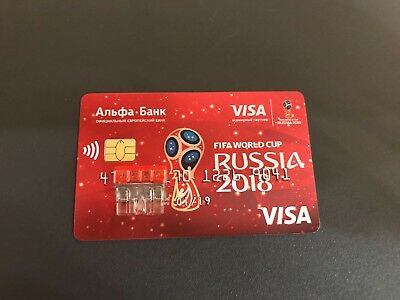 Alfa bank Visa FIFA 2018 Russia World Cup