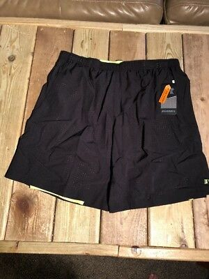 3522fb3ac1 MEN'S RUSSELL PERFORMANCE 2-in-1 Stretch Woven Shorts w/ Liner 9 ...
