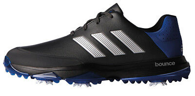 pretty nice f7a48 b0107 NEW Adidas Adipower Bounce CarbonSilverBlue Golf Shoes Mens Size 9 Medium