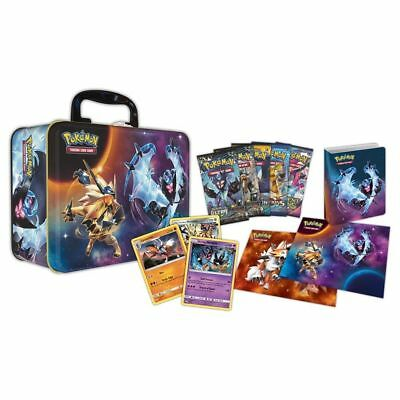 Pokémon TCG Spring 2018 Collector Chest Tin Sealed Lunchbox Sun Moon Ultra Prism