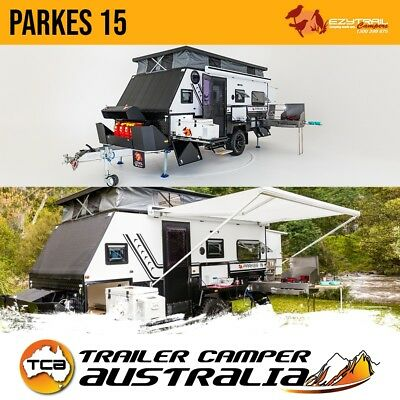 Ezytrail Parkes 15 Off Road Caravan 15FT Hybrid Pop Top Trailer