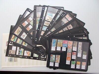Asia. Mint & used collection on stockcards. See pics for info.