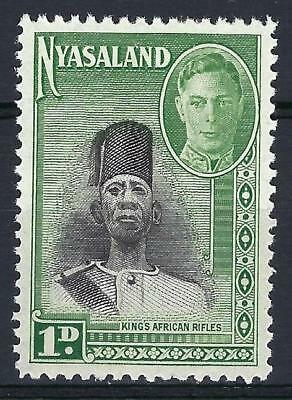 Nyasaland 1945 Sc# 69 Soldier of King's African Rifles GB MNH