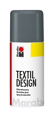 Graphite Grey Marabu Textile Spray Paint Textil Fabric Spray Paint 150ml