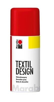 Cherry Red Marabu Textile Spray Paint Textil Fabric Spray Paint 150ml