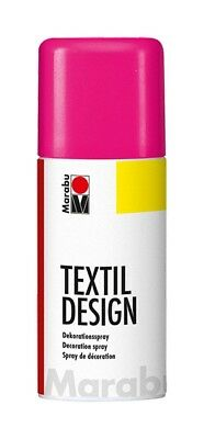 Neon Pink Marabu Textile Spray Paint Textil Fabric Spray Paint 150ml