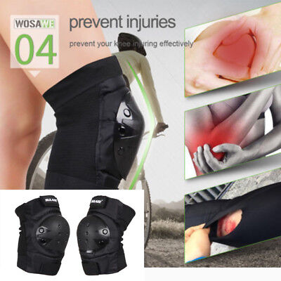 Knee Pads Skateboard Bicycle Bike Scooter Cycling Protective Gear Guard Support