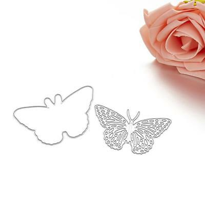 Butterfly Cutting Dies Stencil DIY Scrapbooking Cards Embossing Template Craft*