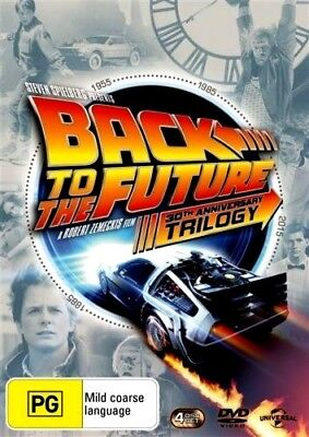 BACK TO THE FUTURE TRILOGY 1 2 3  New 4 Dvd MICHAEL J FOX ***