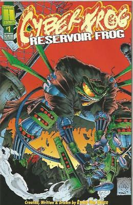 CYBERFROG RESERVOIR FROG (1996) #1 TRENCH COAT VARIANT - Back Issue (S)