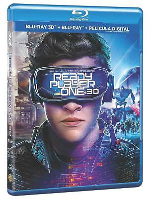 Ready Player One  BLU RAY 3D + 2D ESPAÑOL NUEVO PRECINTADO CASTELLANO