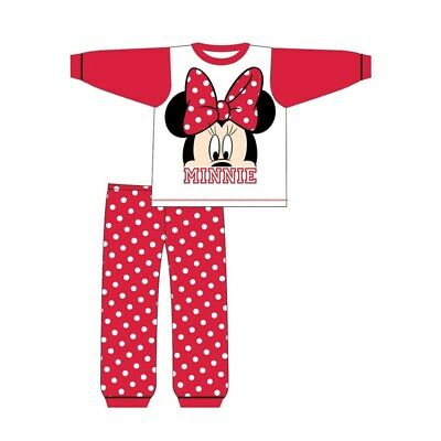 Girls Pyjamas Minnie Mouse Toddler Pjs 6 to 24 Months
