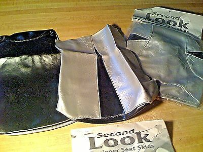 2001 HONDA CBR 600 F4i SEAT COVER & TANK BRA Blck/Silver SECOND LOOK MOTORCYCLE