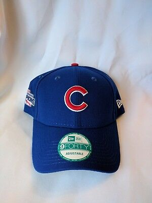 56f9f13019c22 Chicago Cubs World Series Champions 2016 MLB New Era Cap 9FORTY Adjustable